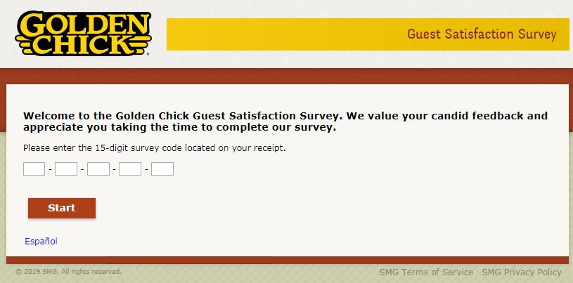 golden chick survey