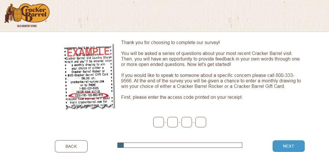 Crackerbarrel-survey.com