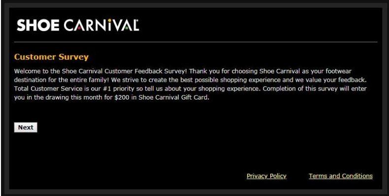 feedback.shoecarnival.com