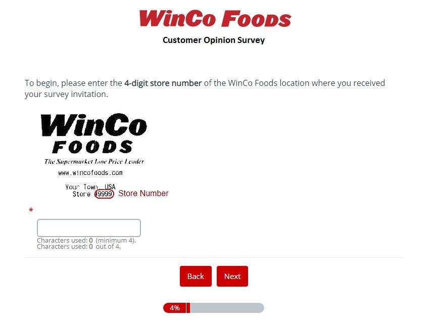 WinCo Foods Feedback