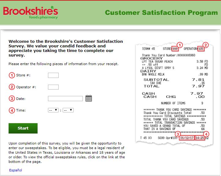 Brookshire survey step1