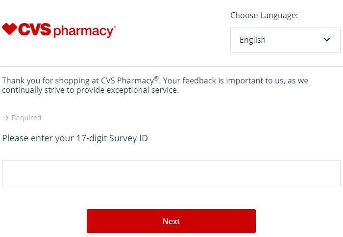 CVS Customer Satisfaction Survey