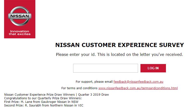 www.nissanfeedback.com.au