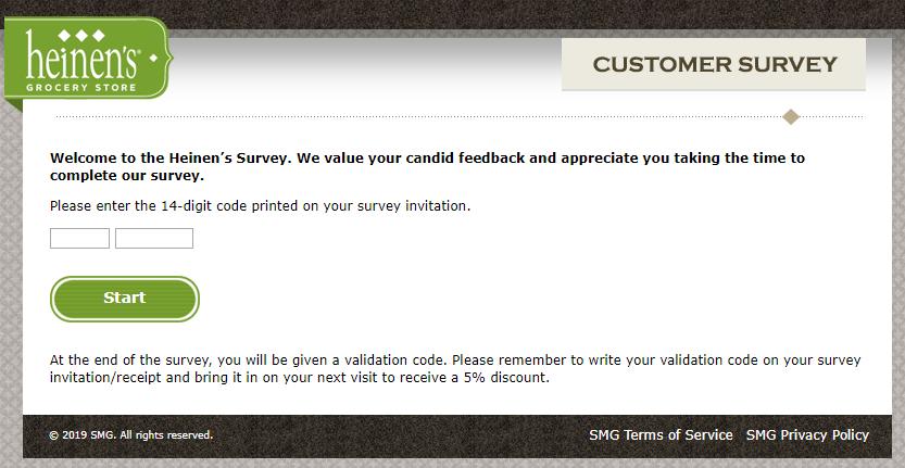 heinens survey