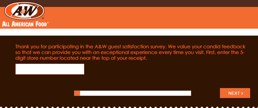 AW Survey Homepage