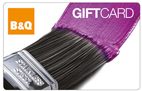 B&Q chester gift card