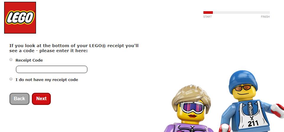 LEGO Guest Feedback Survey