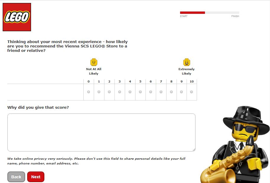 Lego Store Survey