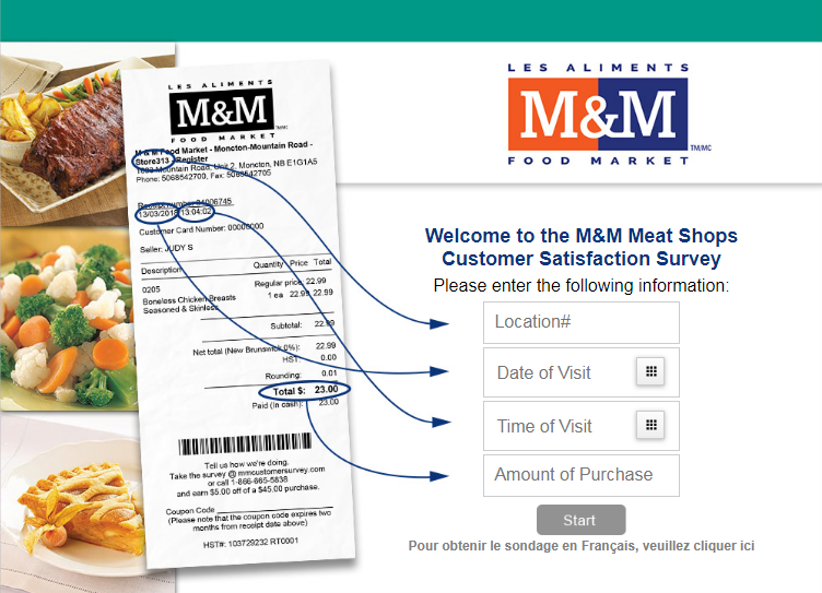 MM Customer Survey Homepage
