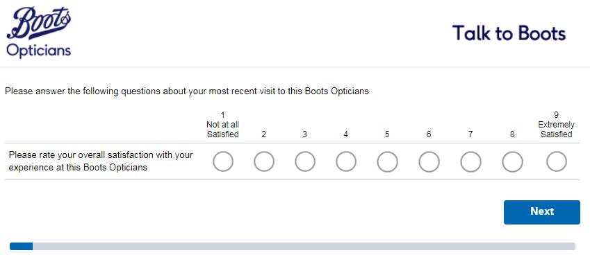 boots opticians survey step2
