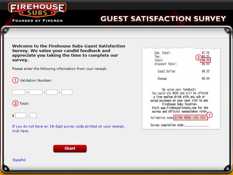 Firehouse review survey