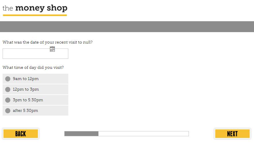 www.tellmoneyshop.com Survey