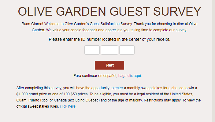 www.olivegardensurvey.com