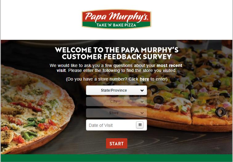 Papa Murphy's Experience Survey