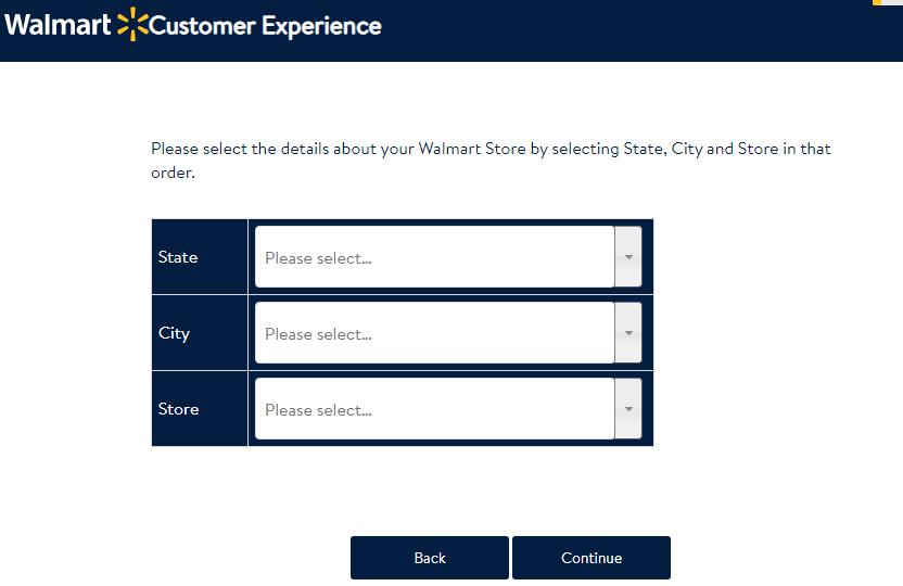 Walmart Guest Feedback Survey