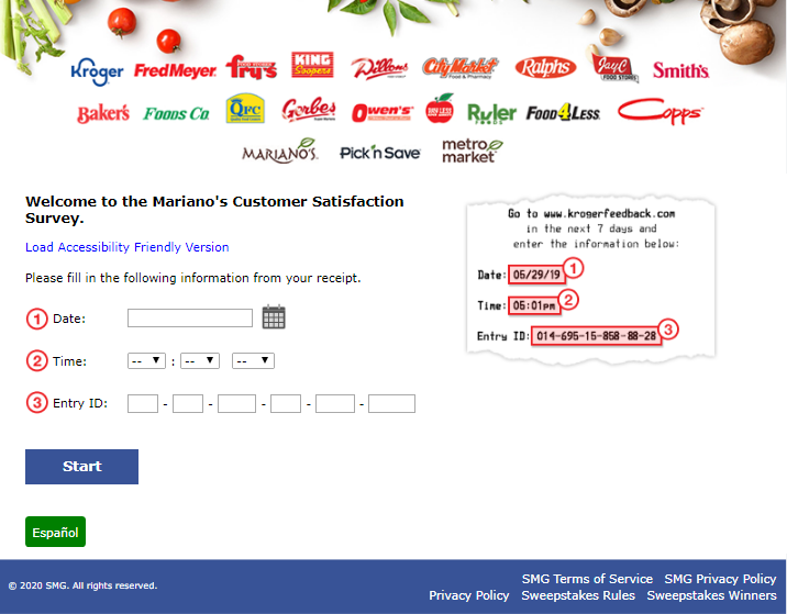 Marianos Customer Survey