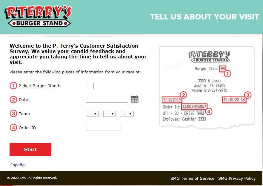 P Terrys Survey Homepage