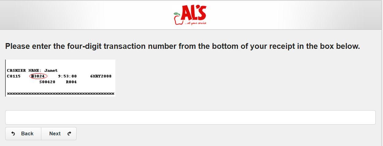 Al's Guest Opinion Survey