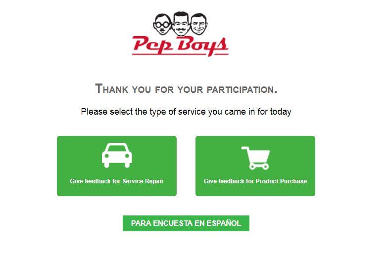 www.pepboyssurvey.com