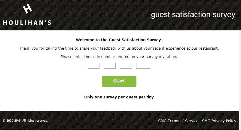 houlihans survey step1