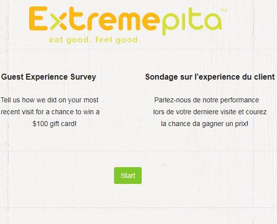 Extreme PitaGuest Survey