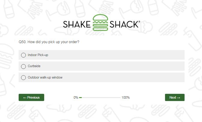 Shake Shack Customer Experience Survey