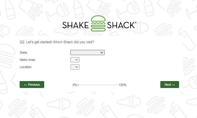 Shake Shack Customer Feedback Survey