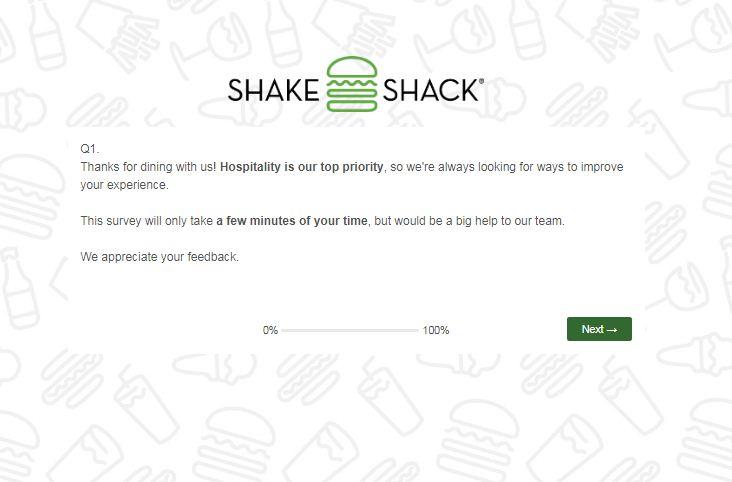 Shake Shack GuestSurvey