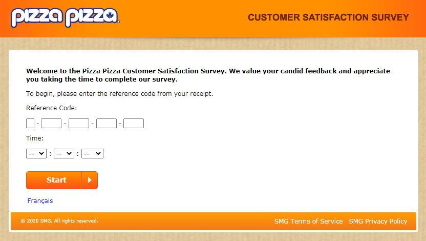 www.PizzaPizzaSurvey.Ca