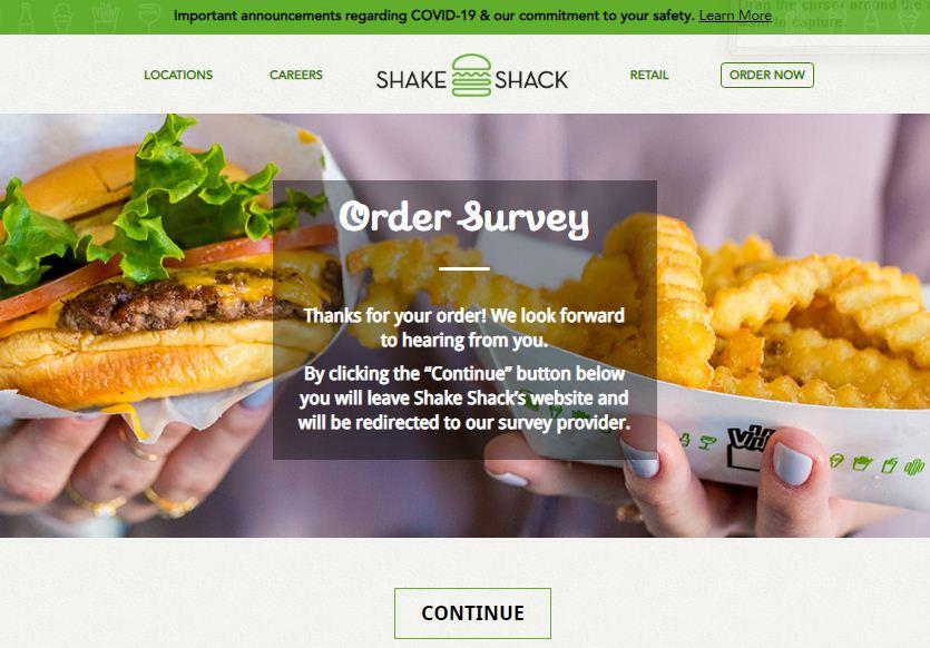 www.Shakeshack.comfeedback