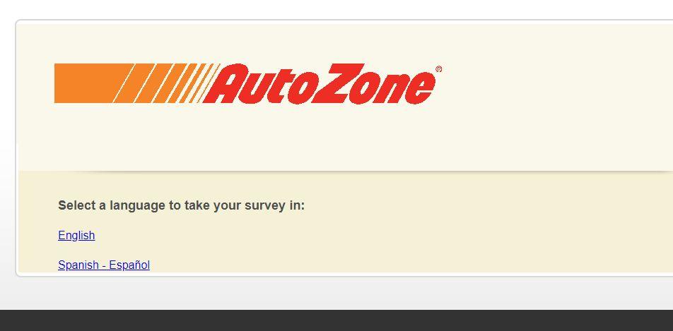 AutozoneGuest Survey