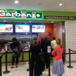 Garbanzo Mediterranean Grill Customer Opinion Survey