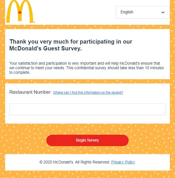 www.Mcdonalds-survey.ca.