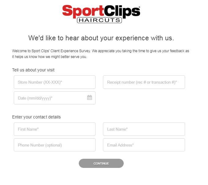 www.Sportclips.comsurvey